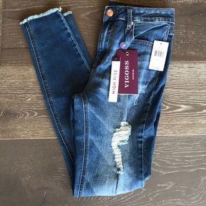 {Vigoss} High-Rise Super Skinny Jeans. Size 26.